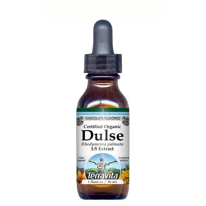 Organic Dulse Seaweed - Glycerite Liquid Extract (1:5) - ...