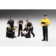 F1 Pit Crew Figurines JPS Team Lotus 1977 Set of 6 pc 1/18 by True Scale Miniatures
