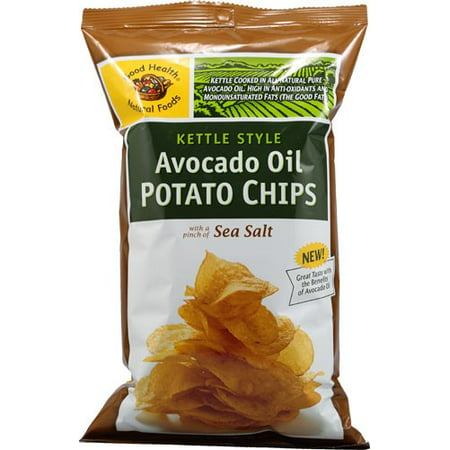 Good Health Natural Foods Avocado Oil Potato Chips, Sea Salt, 5 oz