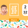 Hello Bello Diapers Jumbo Pack - Hear Our Roars - Size 2 (32ct)