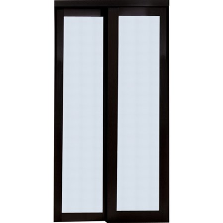 Erias Home Designs Baldarassario MDF 2 Panel Painted Sliding ...