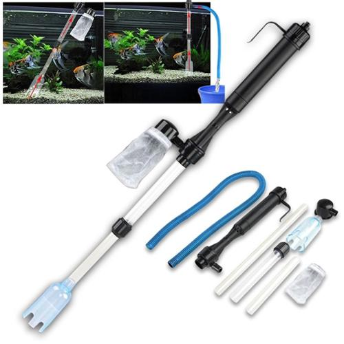Insten Replacement Rechargeable Battery-Powered Gravel Cleaner Aquarium Fish Tank Siphon Vacuum Water Change