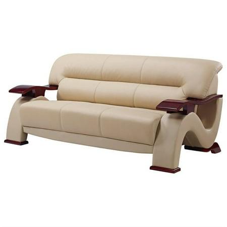 Global Furniture USA 2033 Sofa In Cappuccino Bonded