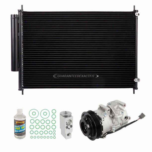 For Acura RL 2005-2012 A/C Kit W/ AC Compressor Condenser