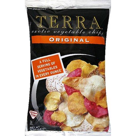 Terra Original Exotic Vegetable Chips  5 Oz   Pack Of 12