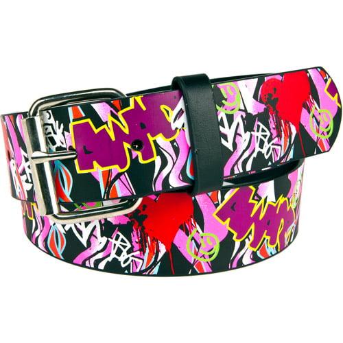 Women's Graffiti Screenprint Belt