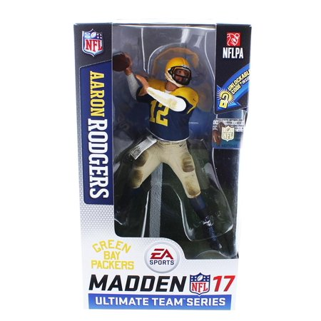 McFarlane NFL EA Sports Madden 17 Ultimate Team Series 2 Aaron Rodgers Action Figure ()
