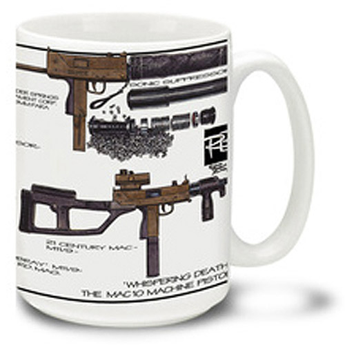 Cuppa 15-Ounce Coffee Mug with MAC 10s