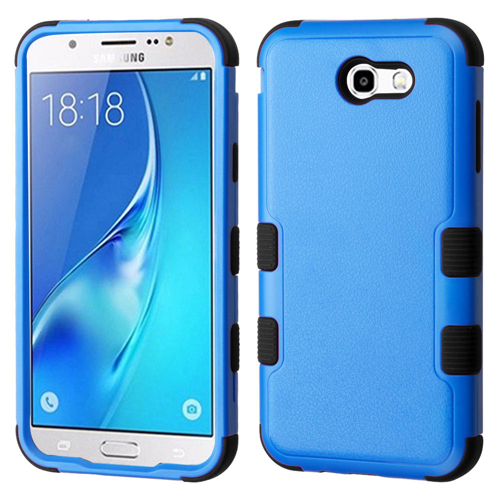 Samsung Galaxy J7 2017 phone case, Samsung Galaxy J7 Perx case, by Insten TUFF Shock Absorbing Hybrid PC/TPU Dual Layer Case For Samsung Galaxy J7 (2017) J7 Perx J7 Sky Pro J7 V