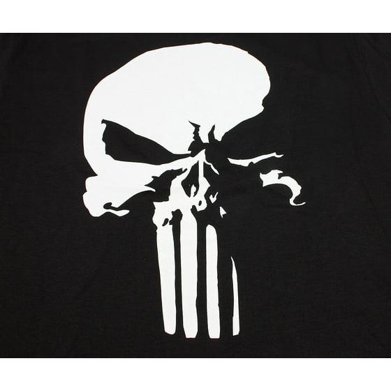 78df1bc66e2b welovefine - Marvel Comics Punisher 3D Skull Mens T-Shirt Frank ...