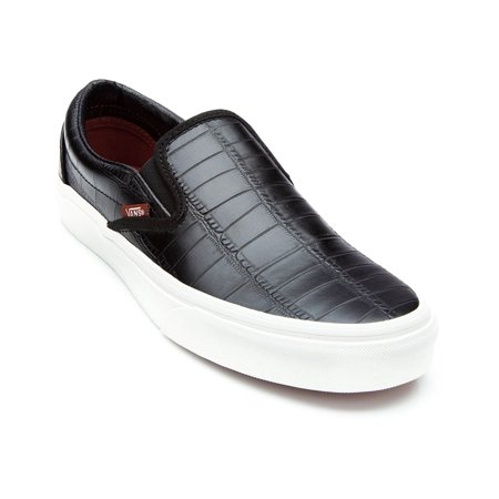 VANS - Vans Unisex Classic Slip-On Croc Leather Sneakers - Walmart.com c5b6442a9