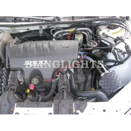 1998 1999 Chevrolet Monte Carlo Z34 3.8L L36 Performance Air Intake Kit