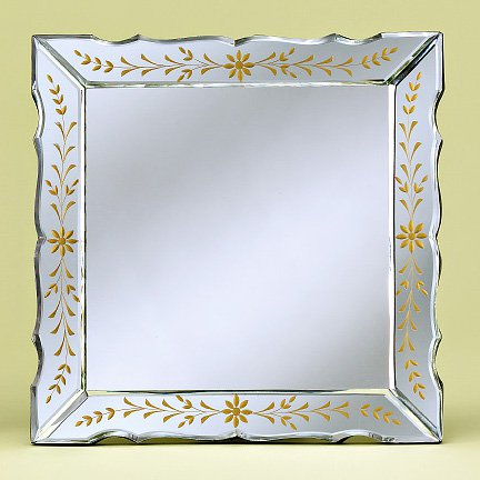 Paula Tabletop Venetian Mirror - 13.5W x 13.5H in.