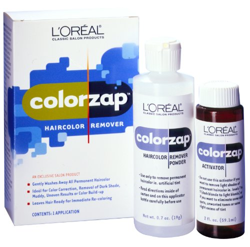 LOreal Colorzap Clear Remover Kit (Pack of 2)