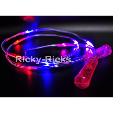 Light Up Jump Rope (Light Up Jump Rope Kids LED Skipping Toys Children Exercise Ropes Flashing)