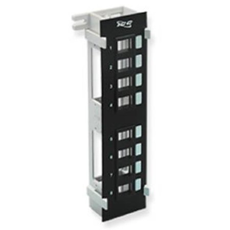 IC107BP8VB 8 Port Vertical Blank Patch Panel - image 1 of 1