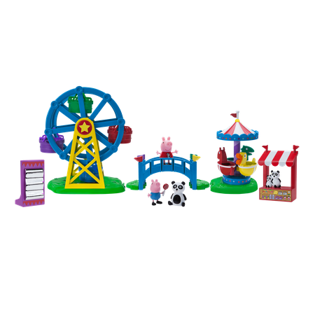 Peppa Pig Fun Fair Playset - Peppa Pig Cake Toppers