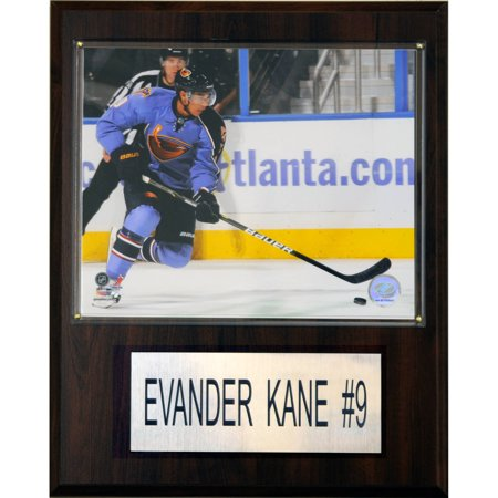 C&I Collectables NHL 12x15 Evander Kane Atlanta Thrashers Player Plaque by