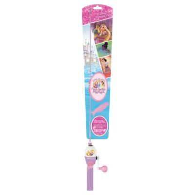 Shakespeare Disney Princess Youth Fishing Kit with Tackle -