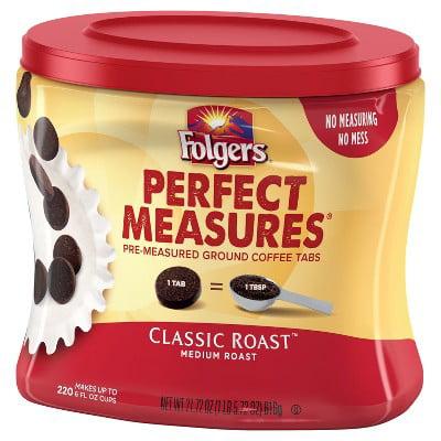 Jm Smucker Folgers Perfect Measures Coffee 21 72 Oz Walmart Com Walmart Com