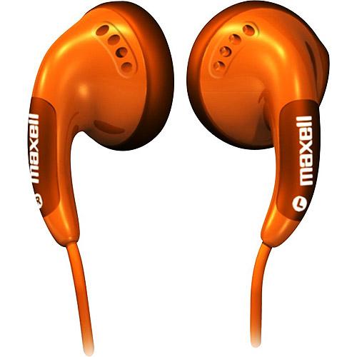 Maxell CB-ORANGE Color Buds Earbuds, Orange