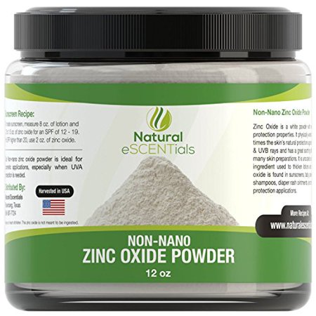 Non Nano Zinc Oxide Powder - Can Be Used To Make Sunscreen Or Baby Powder, 12 (Use Of Zinc Oxide In Face Powder)