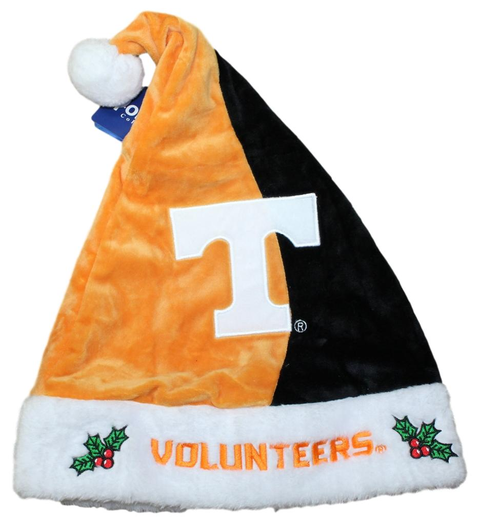 Tennessee Volunteers 2017 NCAA Basic Logo Plush Christmas Santa Hat
