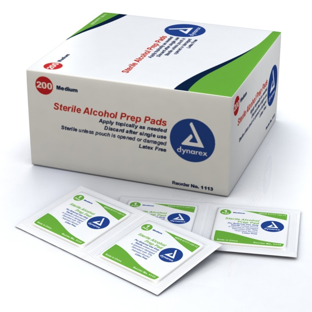Cleaning Pads - alcohol free cleaning towelette 100/box, * Offered in alcohol free By Allegro