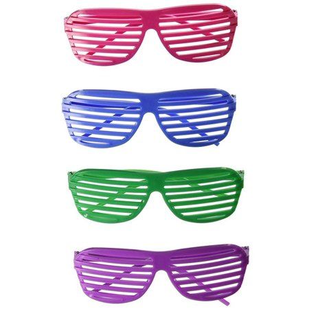 Rhode Island Novelty 24 Pairs of 80's Sunglasses Party Favors ()