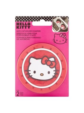c265c527c Product Image Hello Kitty Auto Cup Holder Coasters, 2 count