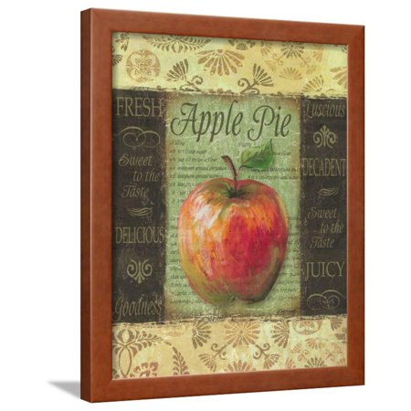 Apple Pie Framed Print Wall Art By Todd Williams