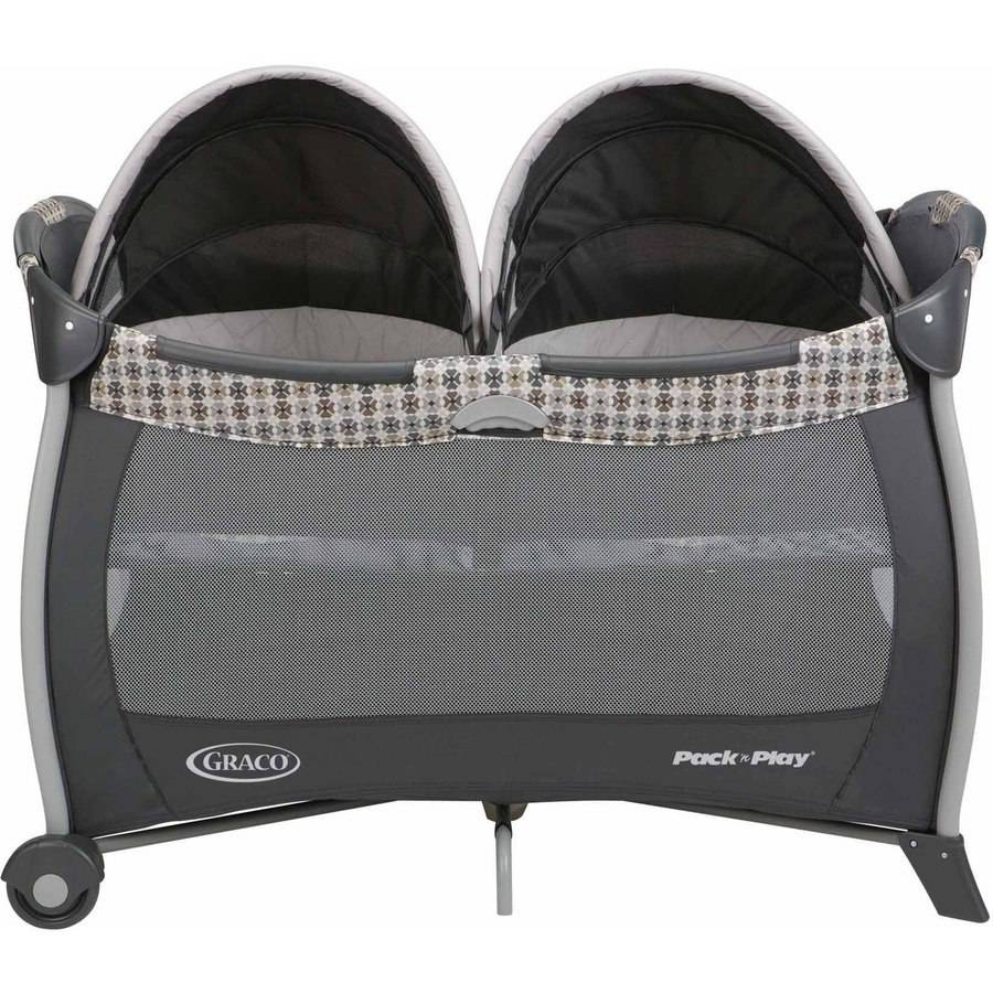 Baby bassinet twins graco pack n play playard playpen portable crib napper new