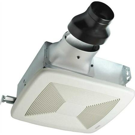Lp80 Broan Lopro Bathroom Exhaust Fan  80 Cfm  1.0 Sones  13 X 14 In.  White - image 1 of 1
