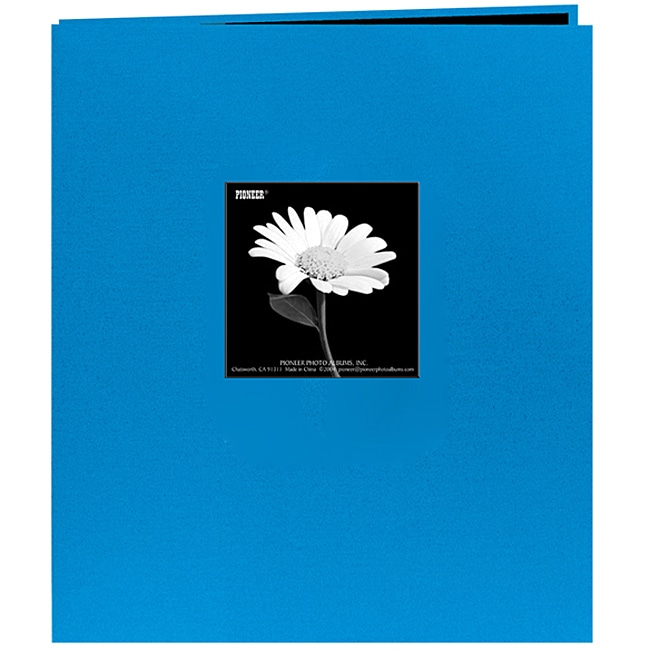 Pioneer Photo Albums Pioneer Fabric Frame Post Bound 8.5 x 11-inch Album