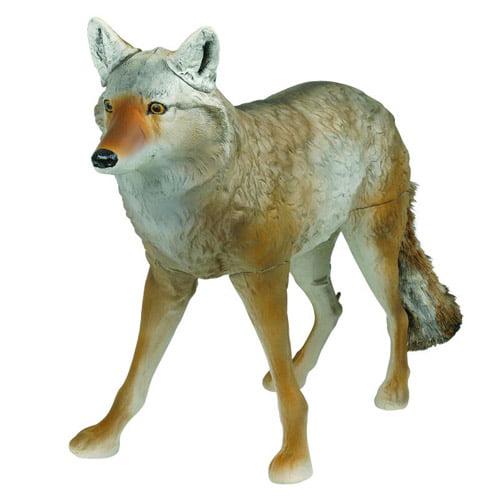 Flambeau Master Series Lone Howler Flocked Coyote Decoy