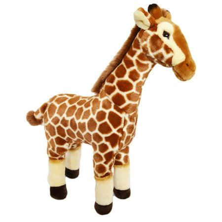 Kingdom Kuddles GiGi the Giraffe- Plush Giraffe Stuffed Animal (Gigi Giraffe)