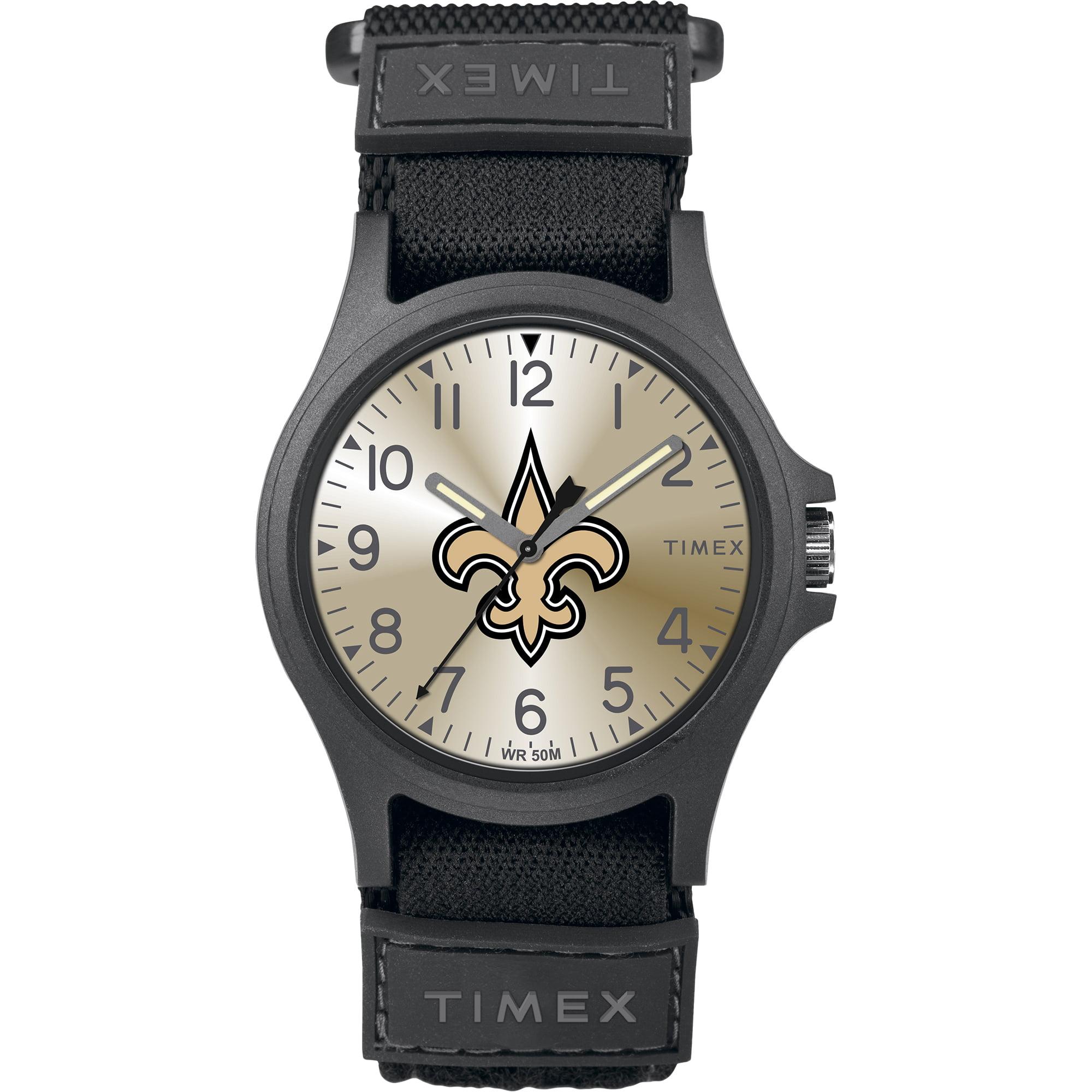Timex - NFL Tribute Collection Pride Men's Watch, New Orleans Saints