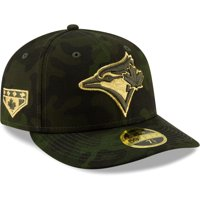 Toronto Blue Jays New Era 2019 MLB Armed Forces Day On-Field Low Profile 59FIFTY Fitted Hat - Camo