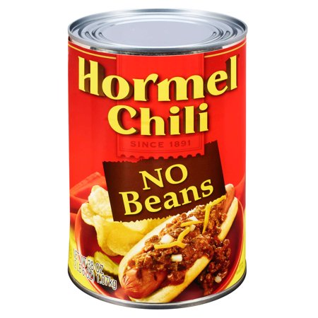 (6 Pack) Hormel Chili No Beans, 38 Ounce (Best Chili Without Beans)