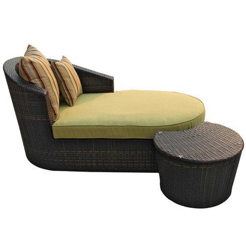 Modway Ellenium 2 Piece Chaise Lounge Set with Cushion