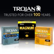 Trojan Stimulations Ultra Ribbed Lubricated Condoms 36ct Walmartcom