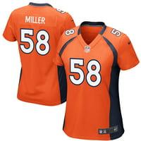 Von Miller Denver Broncos Nike Women's Game Player Jersey - Orange
