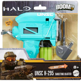 HALO BOOMCo UNSC M45d Blaze of Glory Blaster