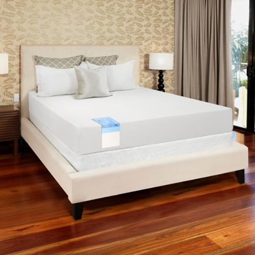 OSleep by O.com OSleep 8-inch King-size Medium Firm Gel Memory Foam Mattress