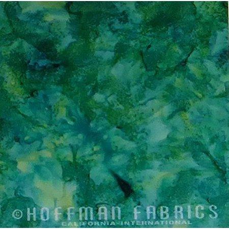 Peacock Hoffman Bali Batik - McKenna Ryan Bali Batik Palette~Frog MR1895-303 Sold by the Yard by Hoffman of CA