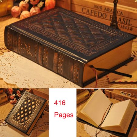Harp Gifts (Retro Vintage Journal Diary Notebook Leather Blank Hard PU Cover Sketchbook)