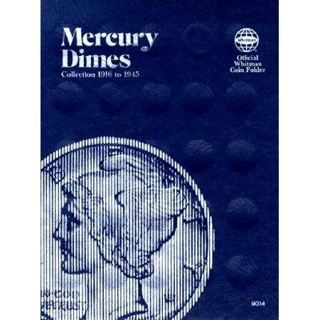 Coin Folders Dimes : Mercury, - Barber Dime Nice Coin