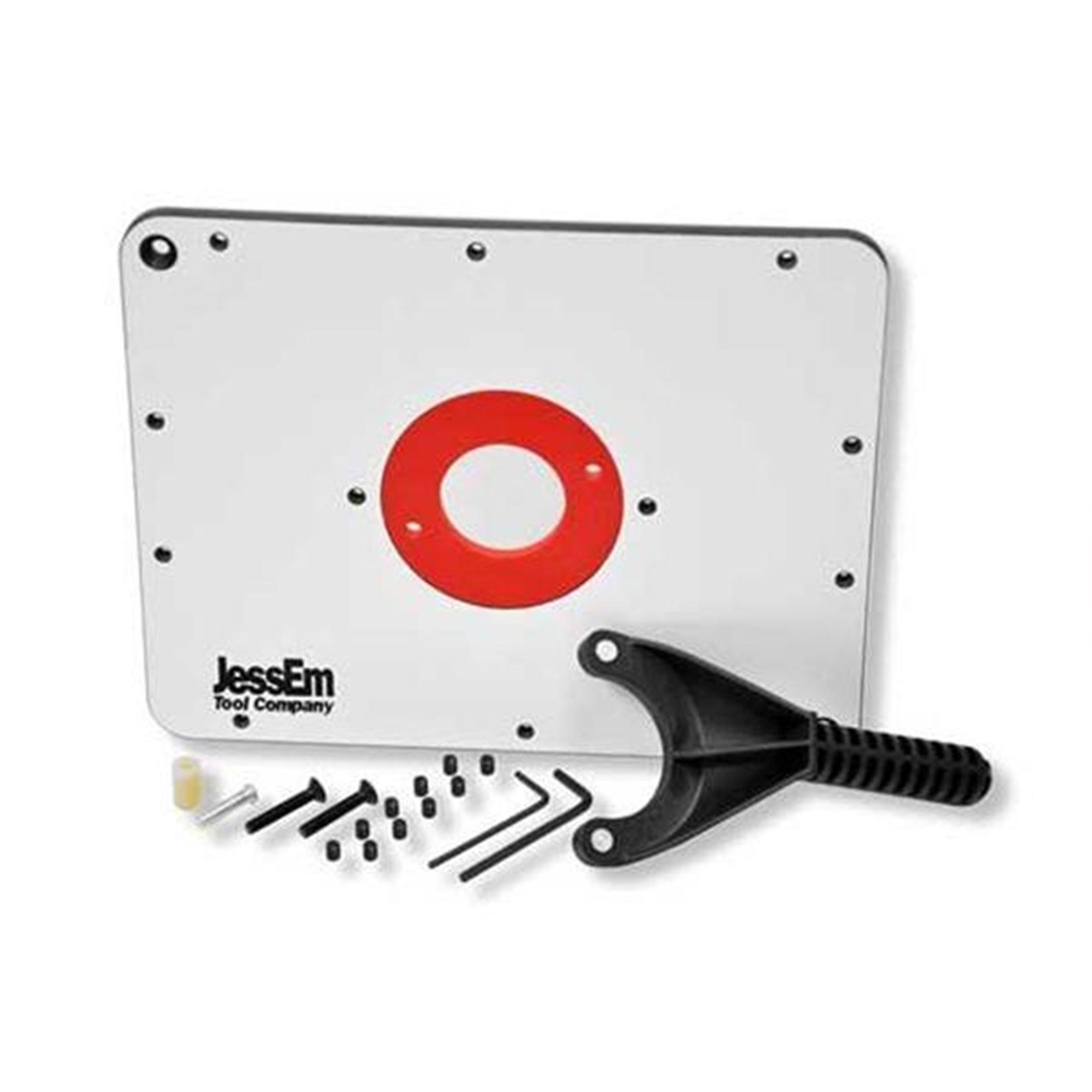 JessEm Rout-R-Plate Phenolic Router Table Insert Plate, JessEm# 03101