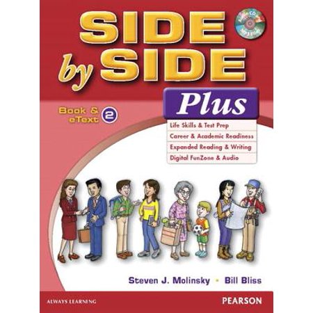 Student Pack (Value Pack : Side by Side Plus 2 Student Book and Etext with Activity Workbook and Digital Audio )