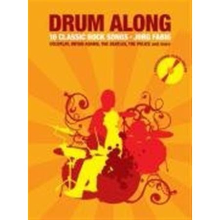 Drum Along - 10 Classic Rock Songs (Paperback) for $<!---->